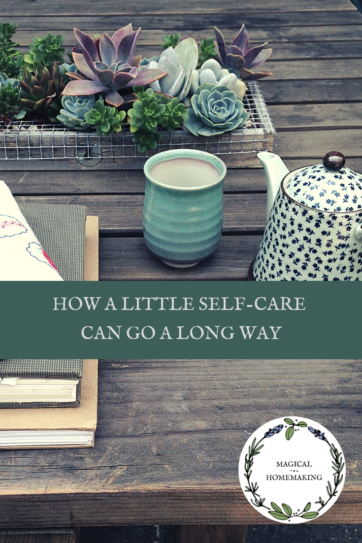 How a Little Self-Care Can Go a Long Way: Little Things Add Up to Deep Joy