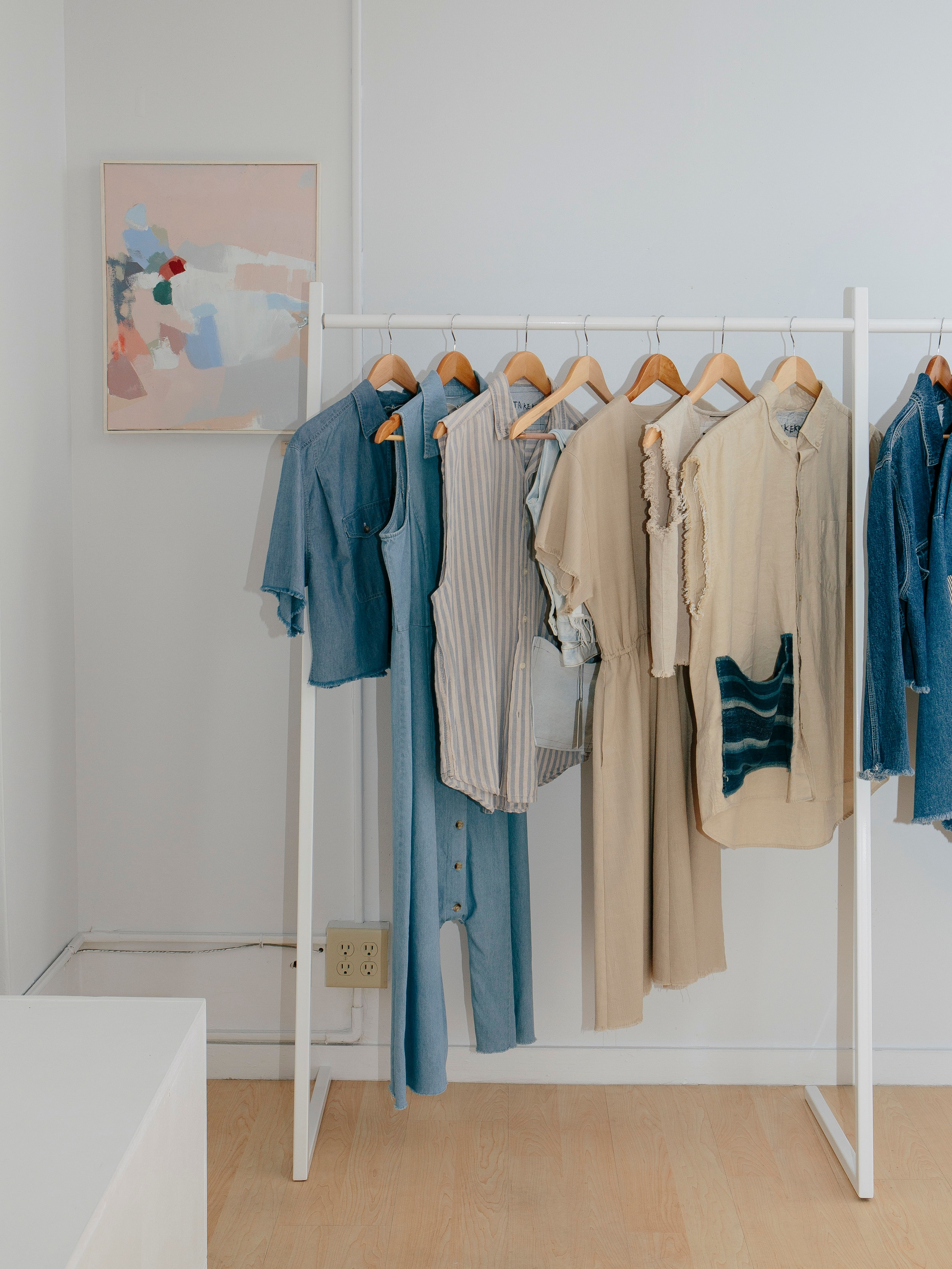 TAKEKO designs featured at Female Not Factory pop-up store in Portland, Maine.
