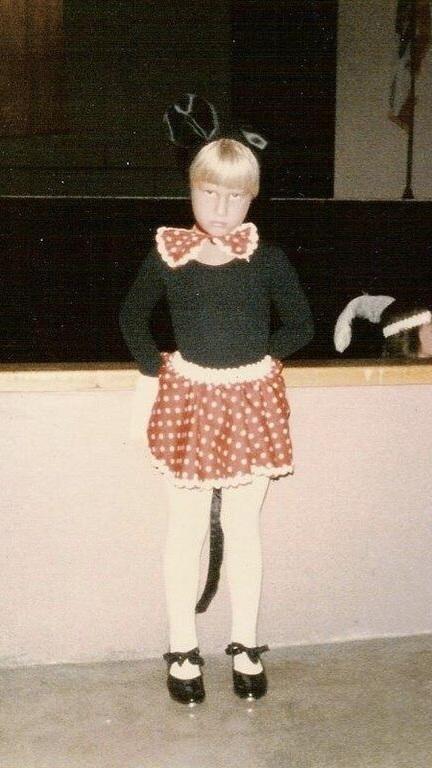 Scott Turner Schofield as a child.