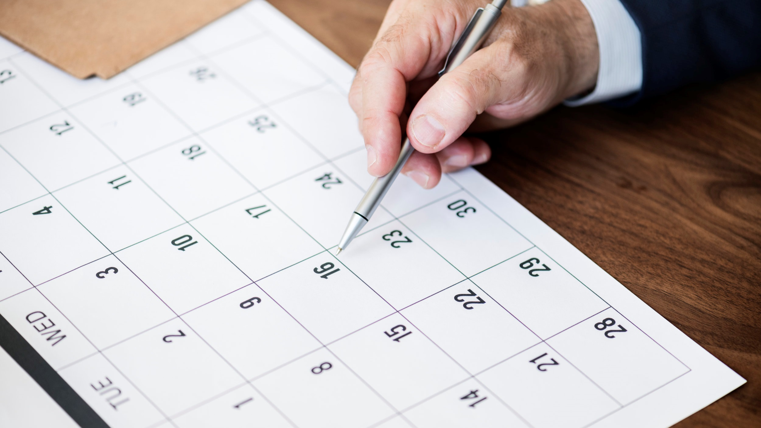Don't Let Tax Time Sneak up on you. Mark in your Calendar Important Tax Dates and Deadlines with the help of this Guide.