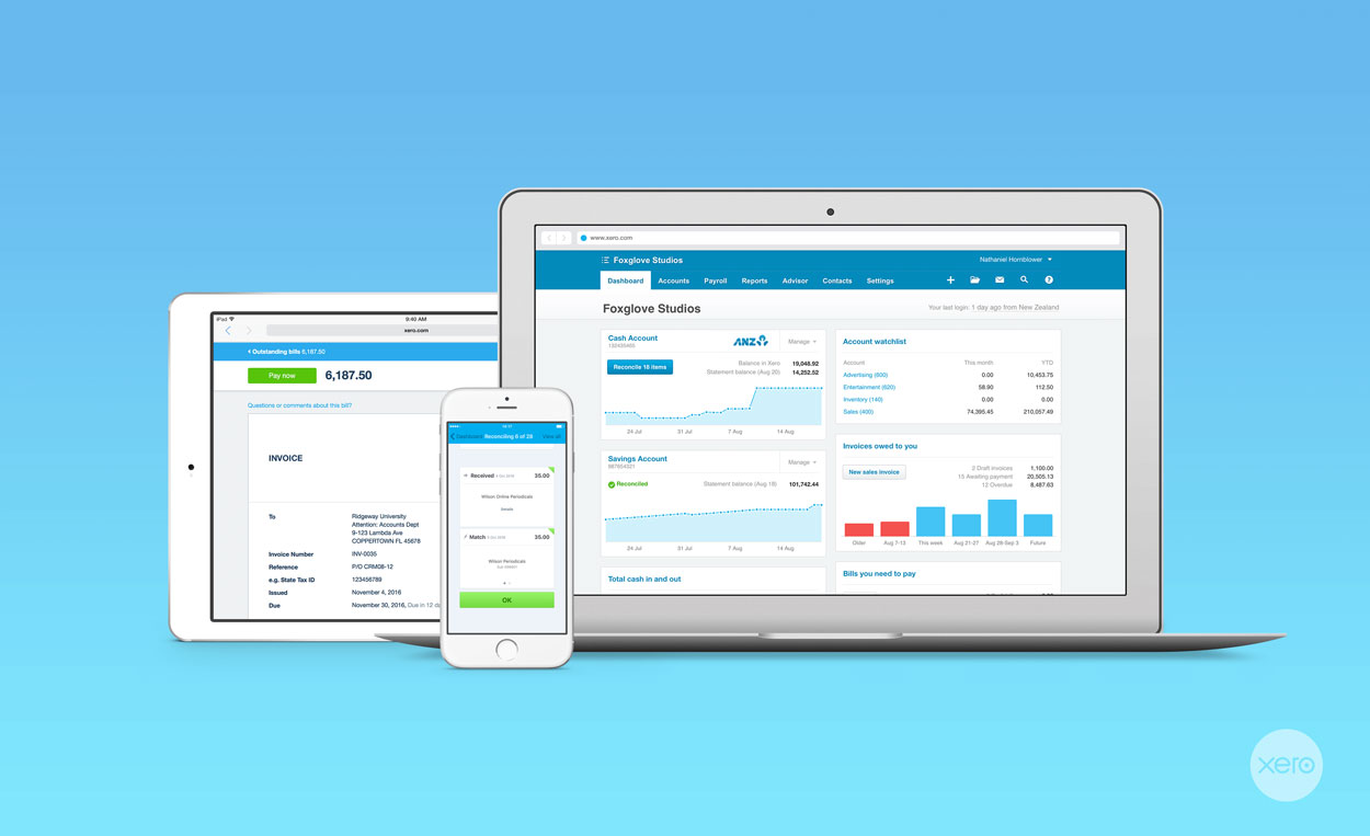 Xero Accounting Software Makes Tax Time Easy.