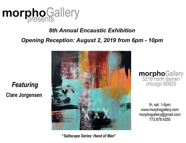 Happy that my work has been included in the 8th Annual Encaustic Exhibition Show @morphogallerychicago.  so many wonderful artists.  If you're in Chicagoland the show will be up all month! #encausticart  #encausticpainting #artistsoninstagram  #mkeartists  #artforinteriordesigners  #colorfullife  #beeswaxartist  #abstractlandscapes