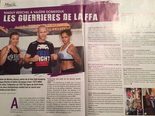 Les Guerrières de la FFA /  Magazine: Karate Bushido