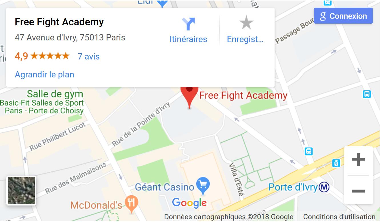 Mixed Martial Arts Paris Club Free Fight Academy Salle Paris 13.png