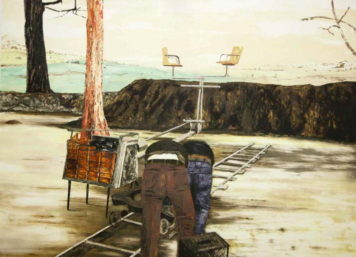 Mamma Andersson   Backdrop  , 2013