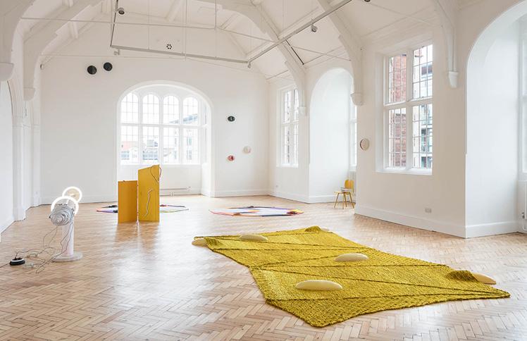 Jennifer Tee   Let It Come Down     - vista da exposição - Camden Arts Centre - Londres, Reino Unido, 2017 (clique na imagem para saber mais).
