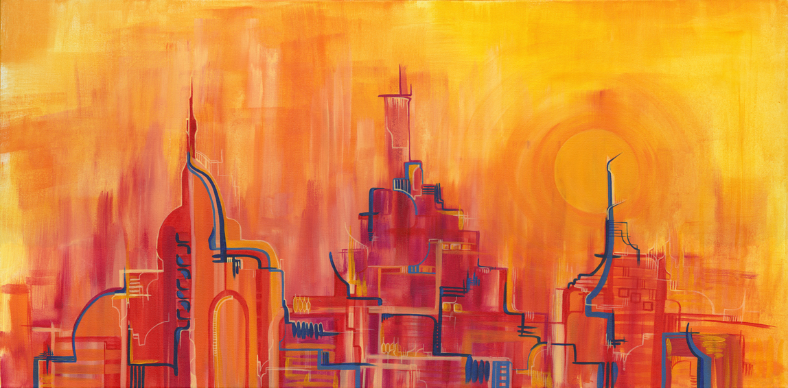 High Rises. Low Hopes. 2012. Available, visit  Available Fine Art  for information.