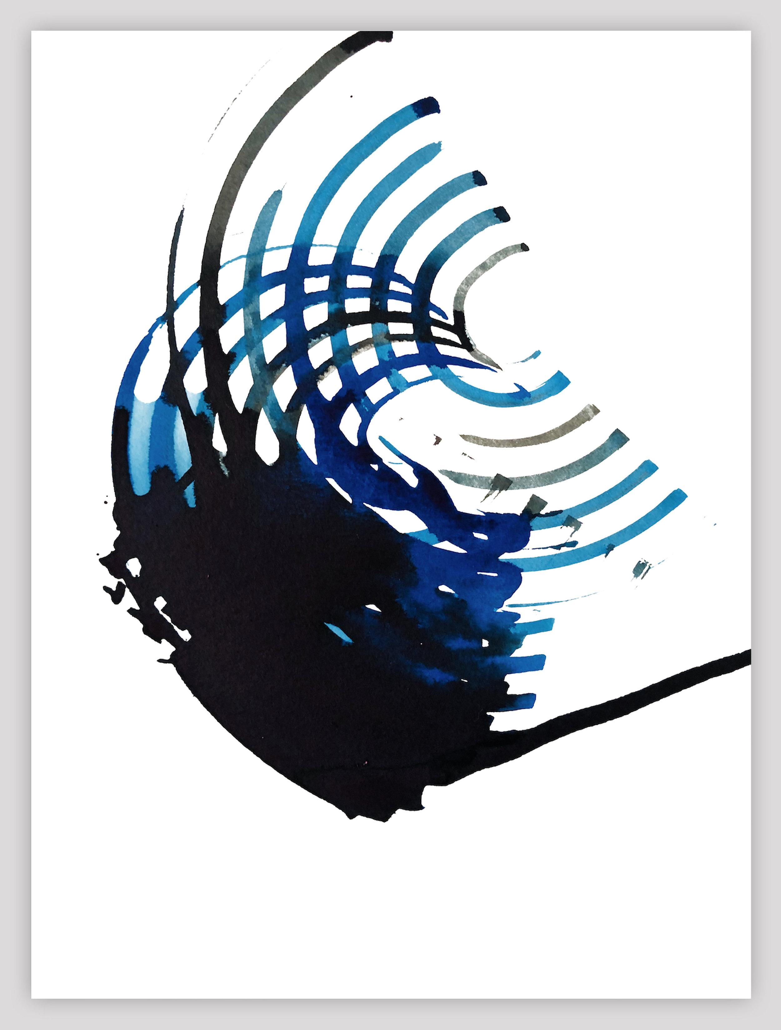 Amplified Blue. 2018.   (Hyperacusis)