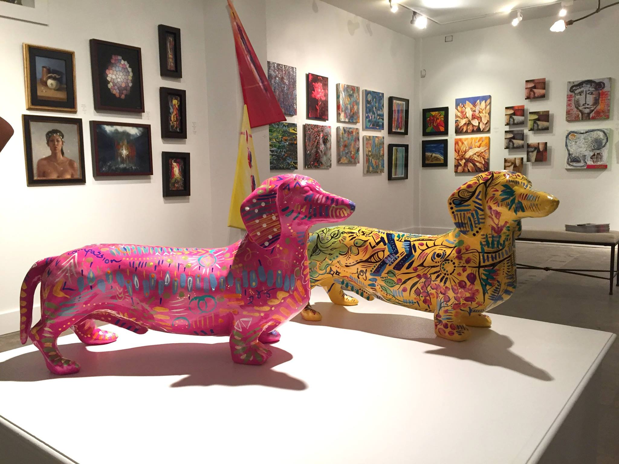 U.S. Humane SocietyArt Basel Fundraiser - 12.04.15The Wild Art. Beautiful Life Exhibit & Fundraiser took place at Wynwood Blank Canvas during the week of Art Basel 2015. The event was well-received by the local and international art collectors who attended. Nicolle's sculpture titled