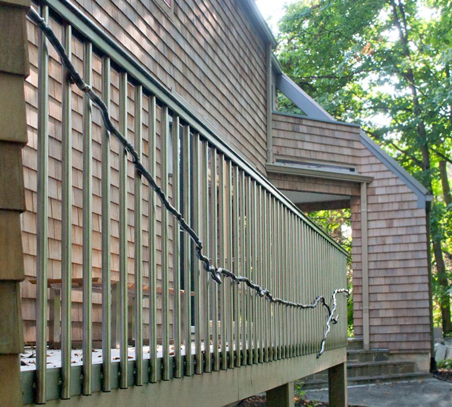 Winding Way Porch Railing