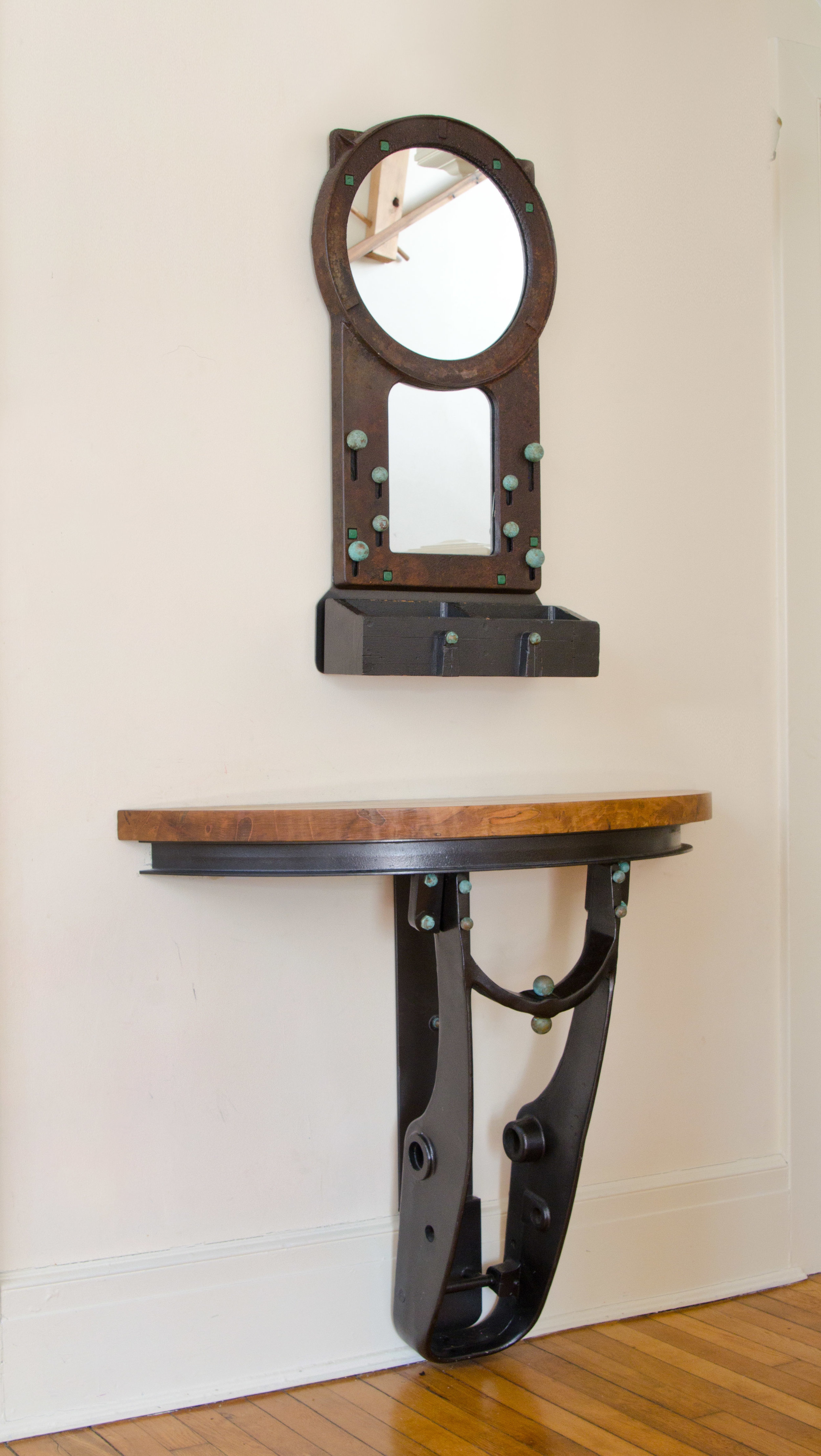 Midvail Console and Mirror