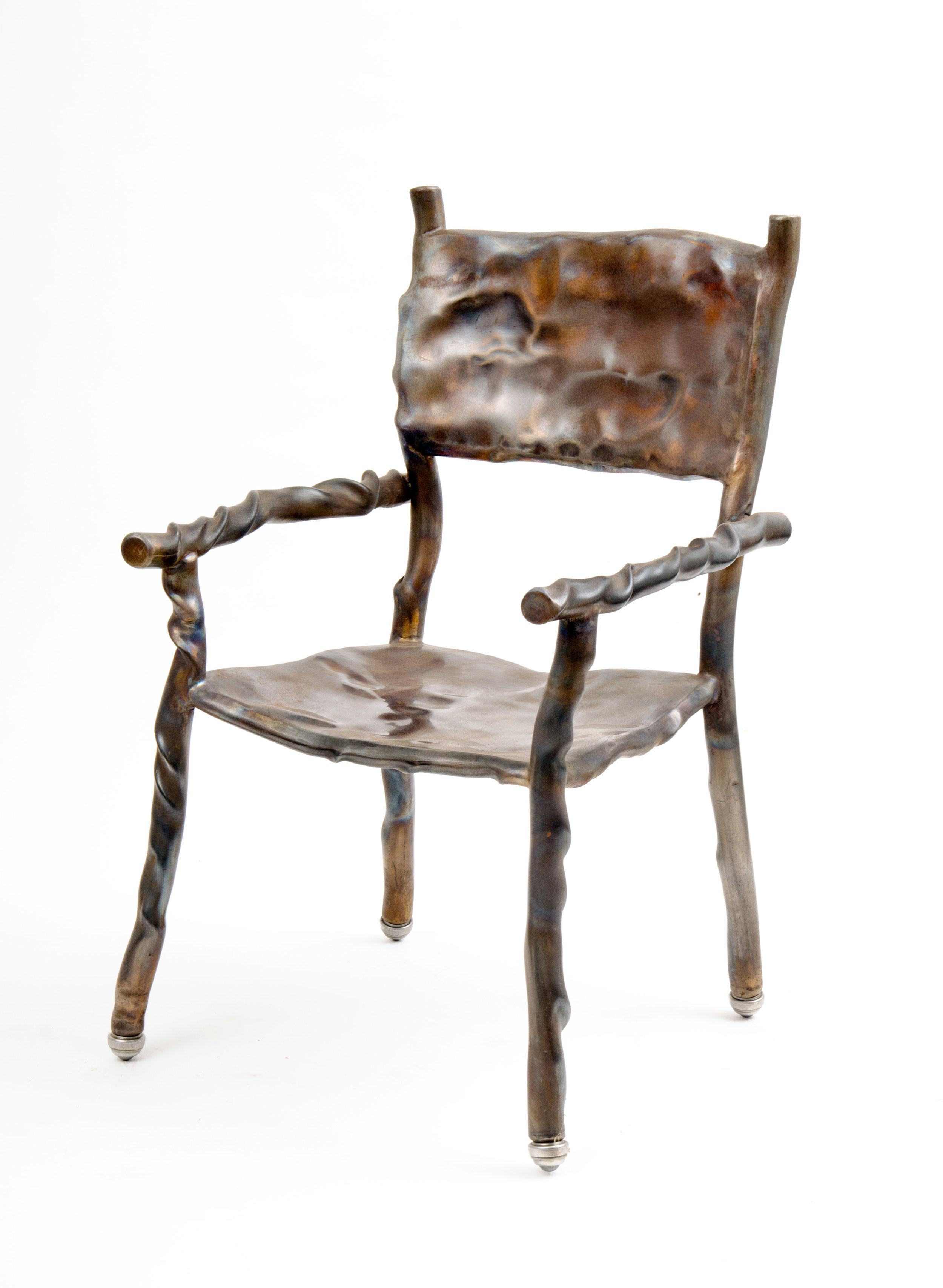 Stainless Dogwood Chair