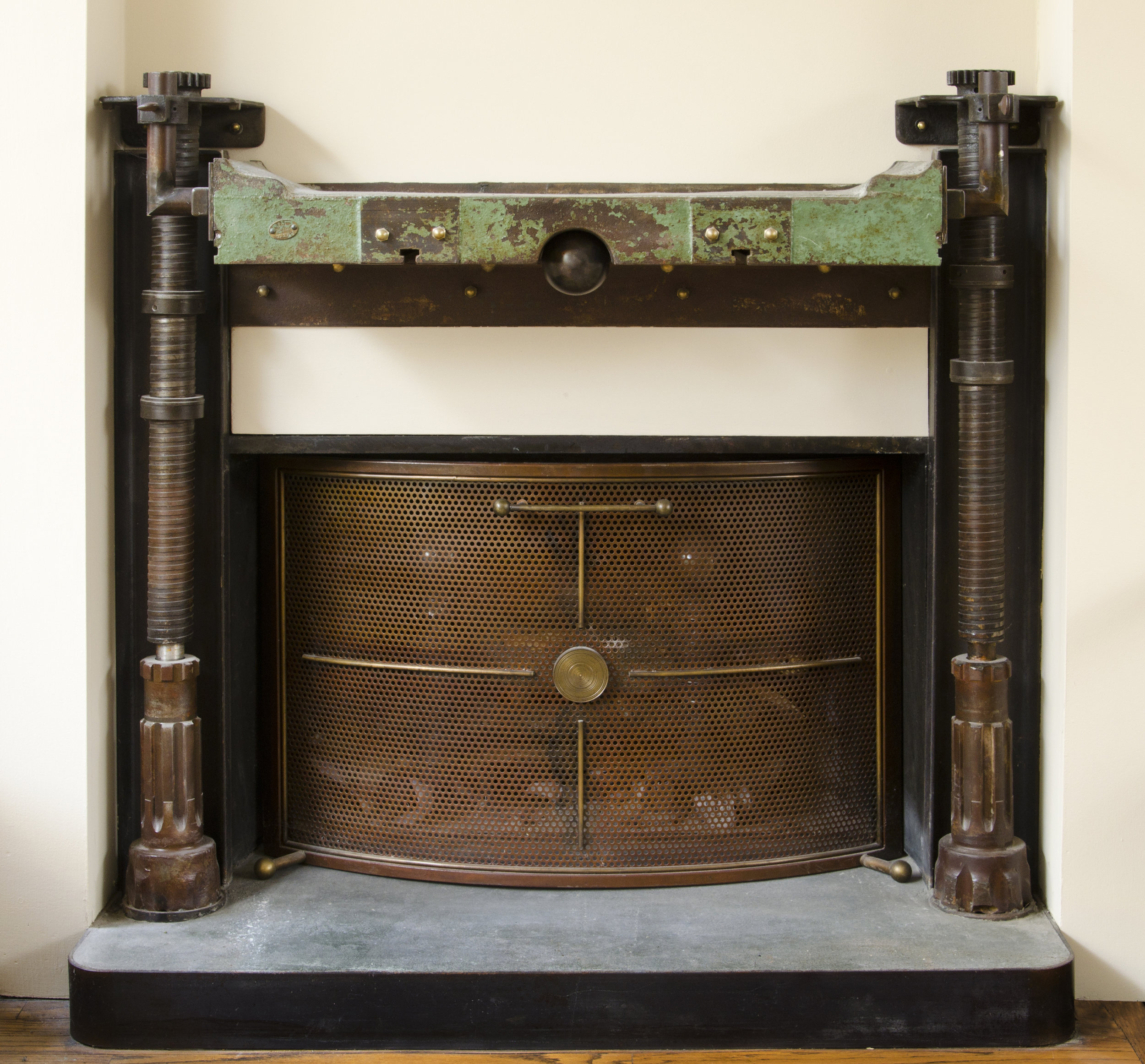 Old Court Fireplace