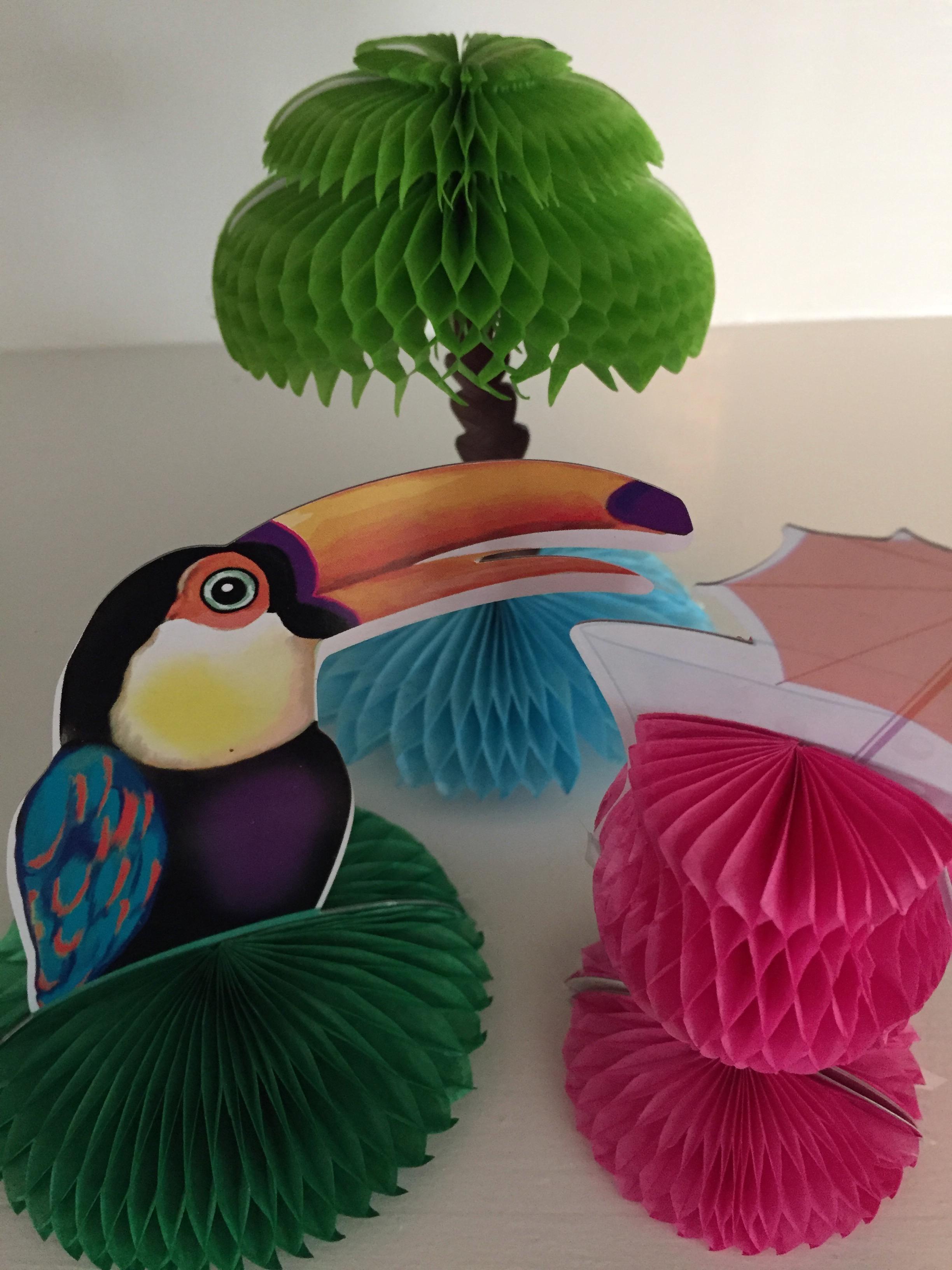 Tropical decorations