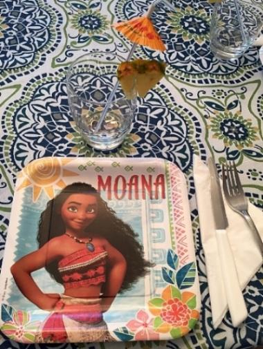 Moana plate setting
