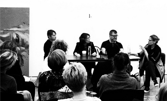 Paul Laster, Deborah Solomon,    Christian Viveros-Faune   , and Sharon Louden (2014)