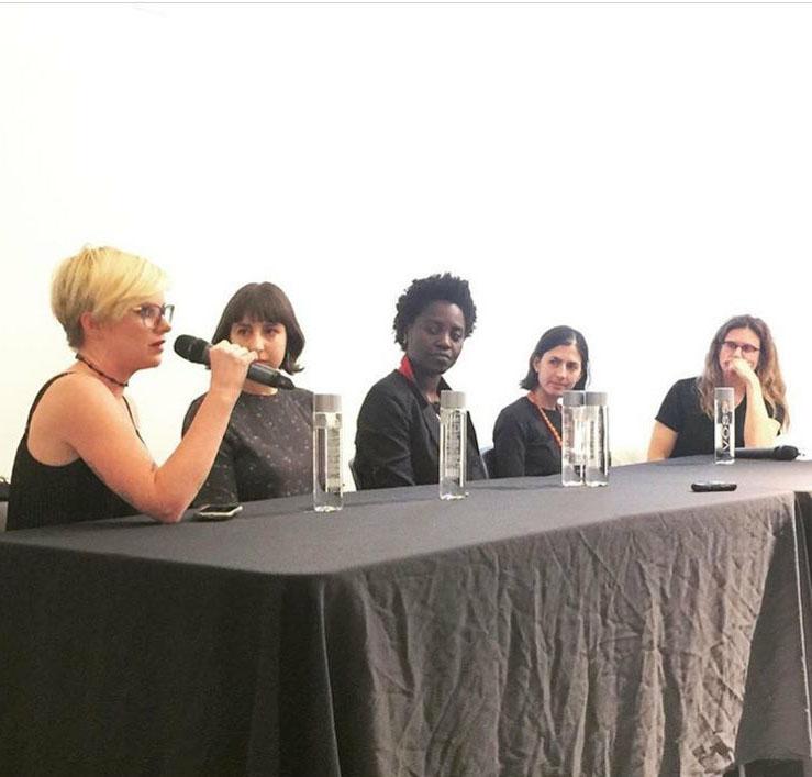 Katy Diamond Hamer, Julia Wolkoff, Adrianna Campbell, Jillian Steinhauer, and Sharon Louden (2016) (   video   )