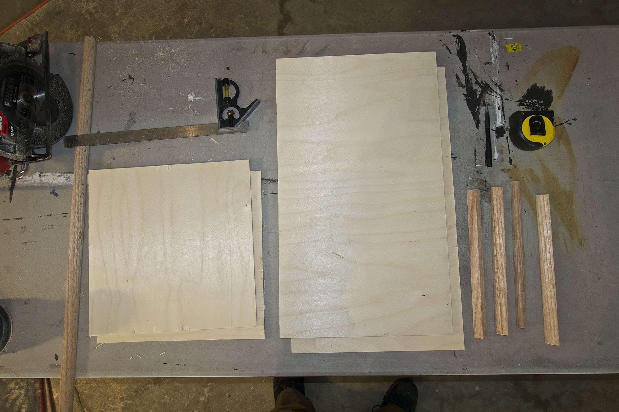 My Skillsaw cuts are mostly square. ;)