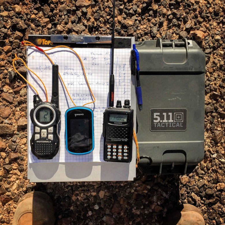 My Land Ops comms loadout.