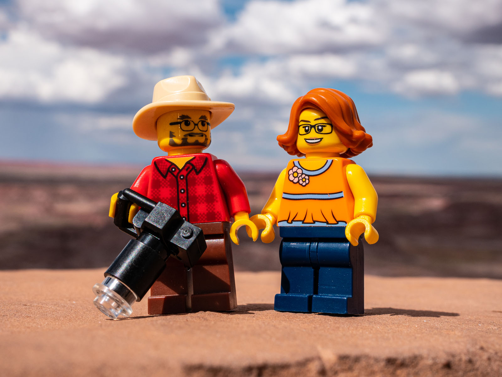 Naturally we did take a few  Lego Expedition  shots, but only on the last couple days of our trip.