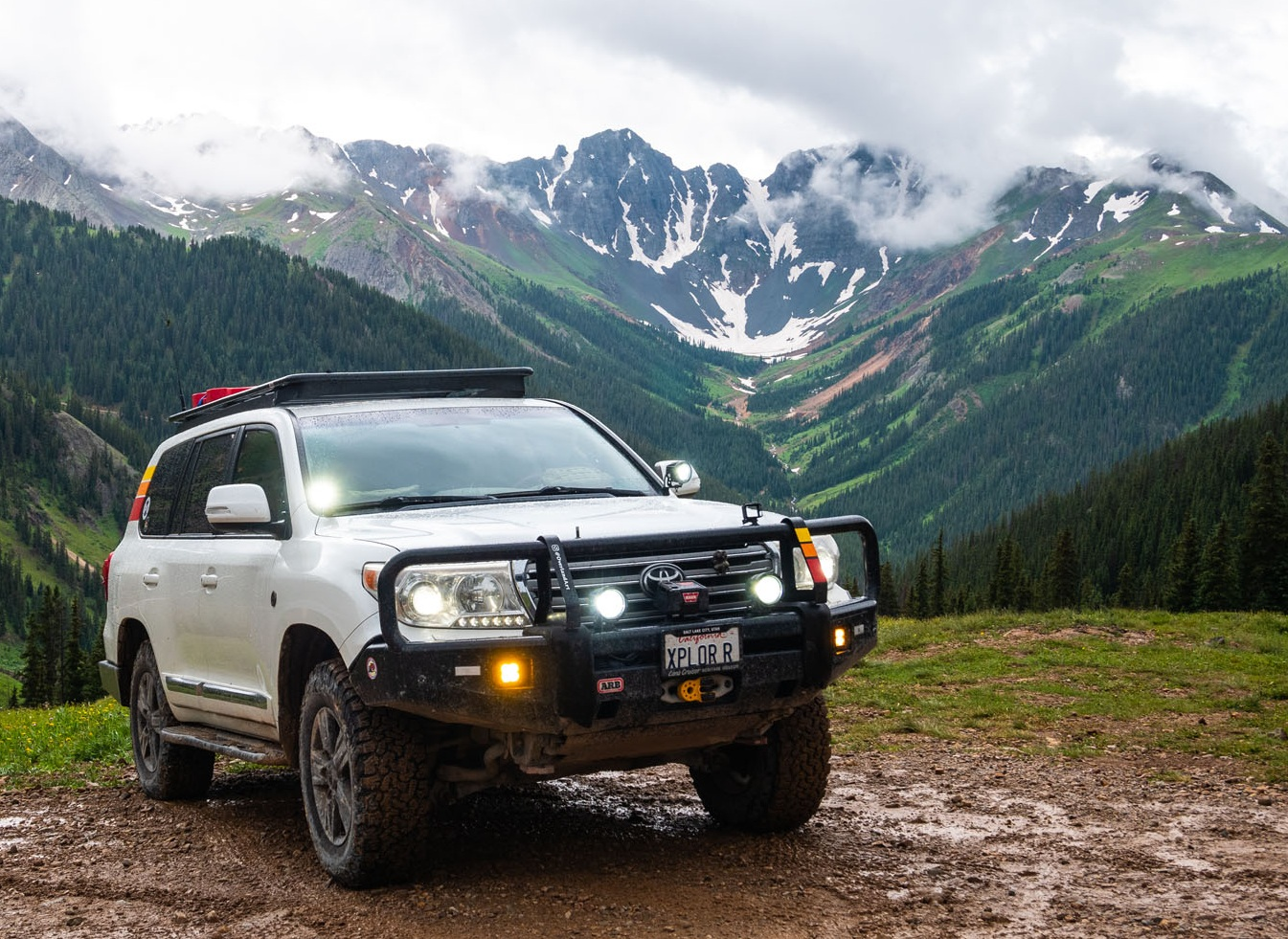 Our truck - the XPLOR R - is a 2014 Toyota Land Cruiser with a moderate list of purposefully selected upgrades and amenities. I should do a post about it sometime…
