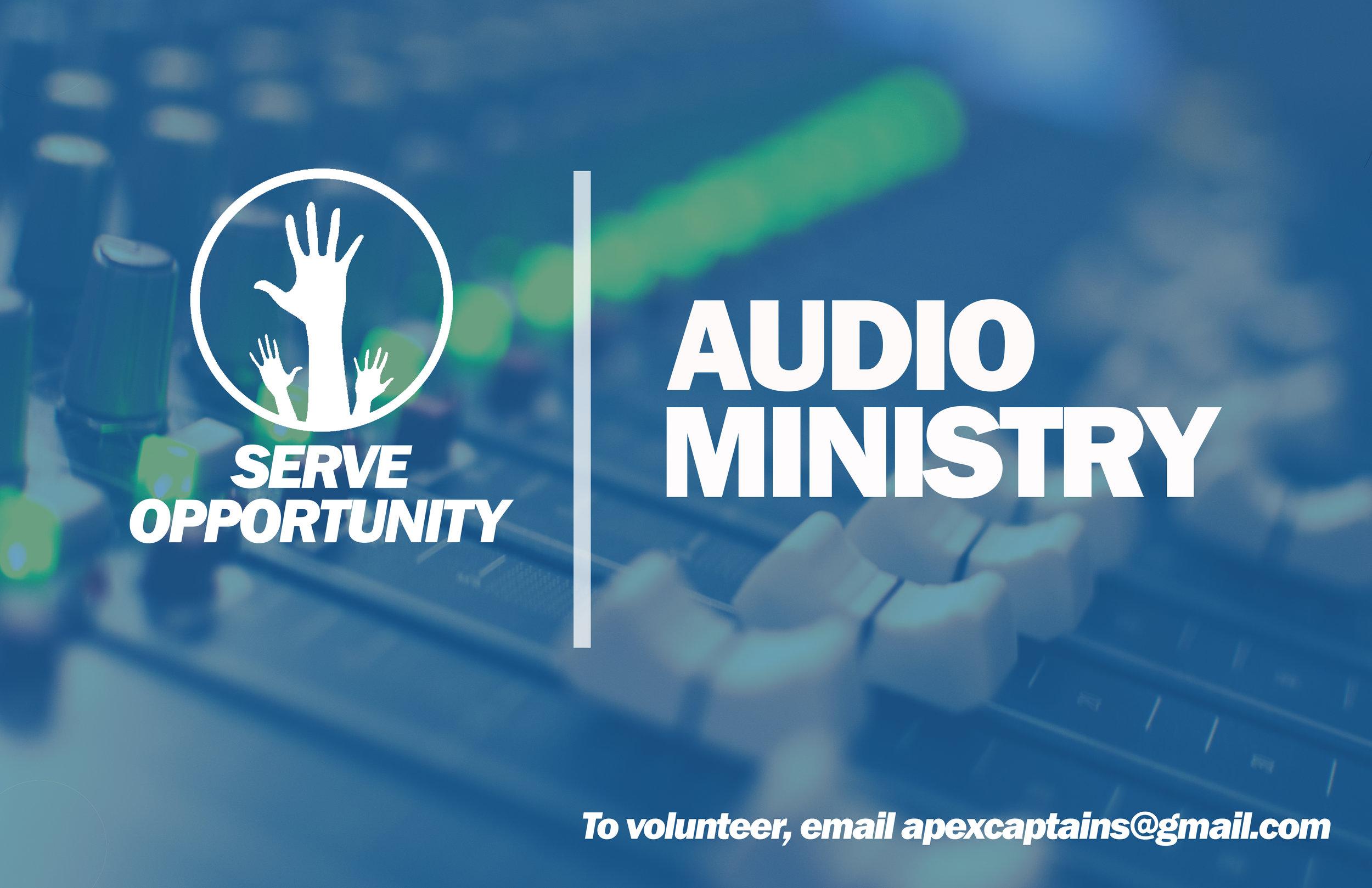 Audio Ministry -