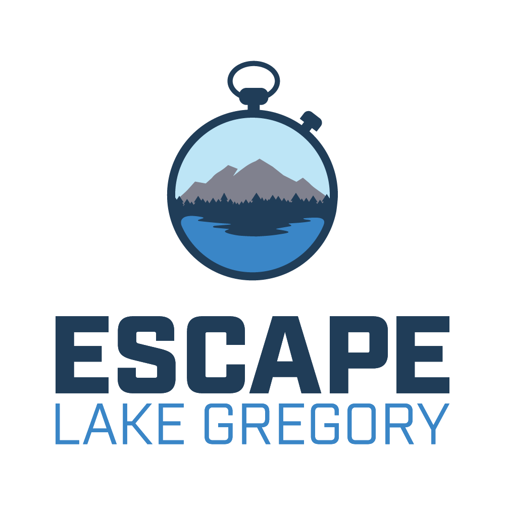 ABOUT US - Escape Lake Gregory is the San Bernardino Mountains premier Escape Room experience. Located just a short drive from the LA area, Escape Lake Gregory makes a great focal point for a weekend getaway to the beautiful mountains and lake.Escape Lake Gregory was founded and launched by husband and wife duo Joe Caliva and Kathi Luster Caliva in June 2017. Escape Lake Gregory currently features Mugsy's Great Escape, a story of a roaring 20's gangster that just can't be caught. We will soon begin work on our second room in Crestline.