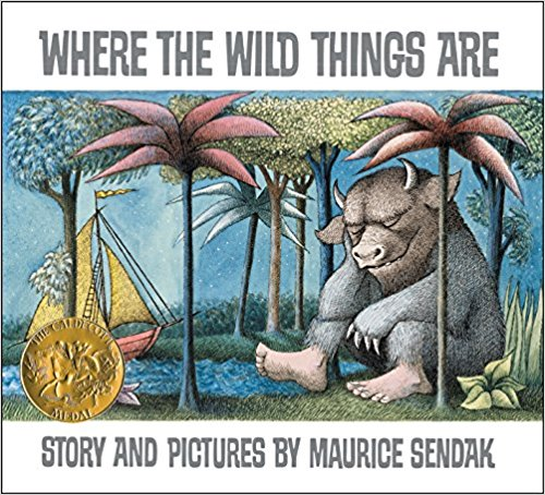 Where the Wild Things Are - I am fascinated by the illustrations and wording of this classic children's book. My boys are fascinated by Max's room transforming into a great woods with a river running through, and his ability to tame the wild things with only a look. Oh, and of course his chasing the dog with a fork!