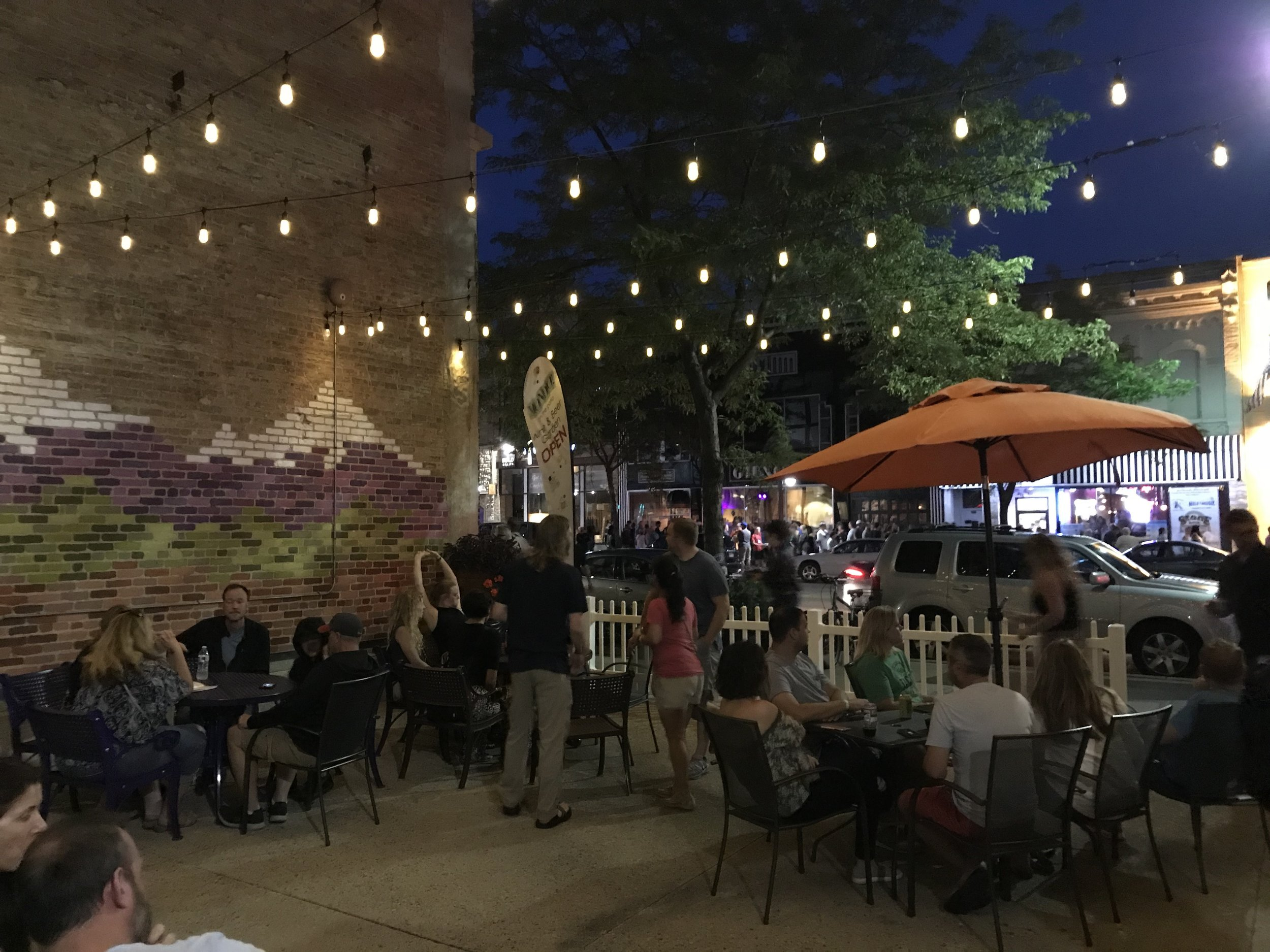 Come enjoy Mondo! on the Patio! - We now have a beautiful wine and beer garden located just 2 doors down from our Mondo! storefront. This space, currently known as the