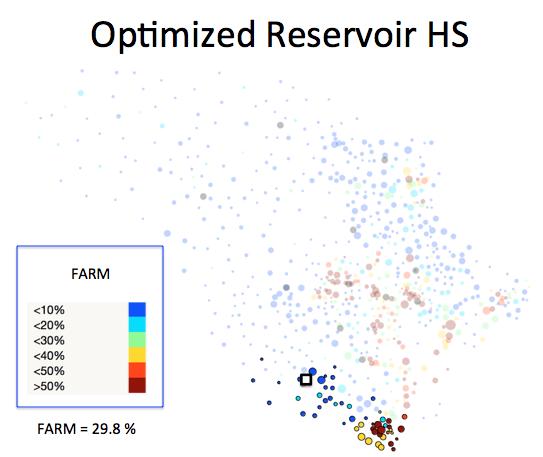 Figure 1 (J): Reservoir HS District Optimized Plan