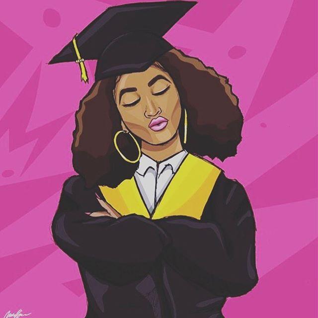 Congrats c/o 2019 😍 👏🏽 #BlackGirlsGraduate