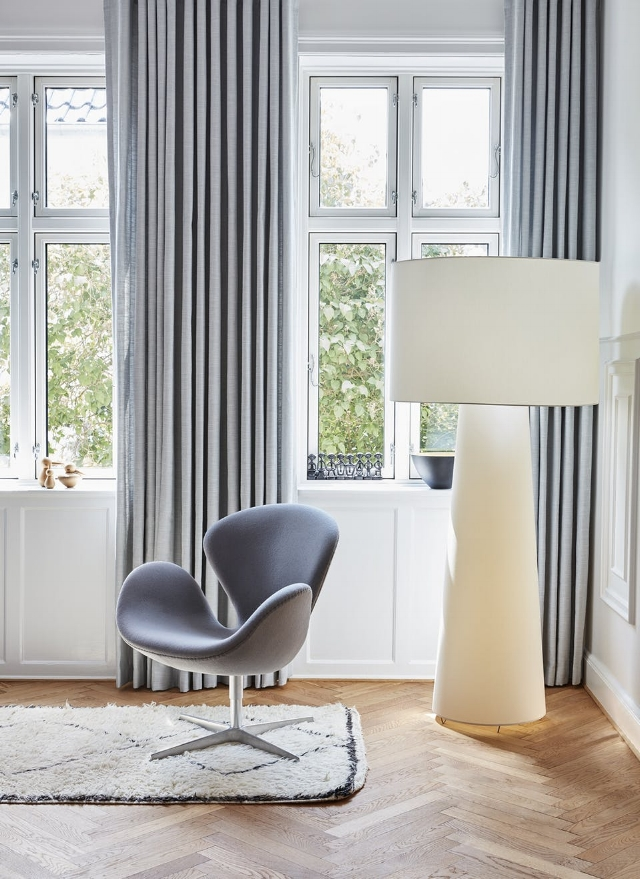 Svane Chair in the home of Pernille Lykke