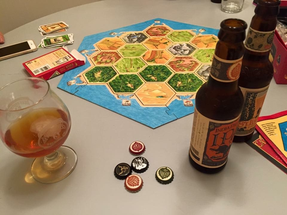 Optional additional resource in Catan: Bottlecaps.