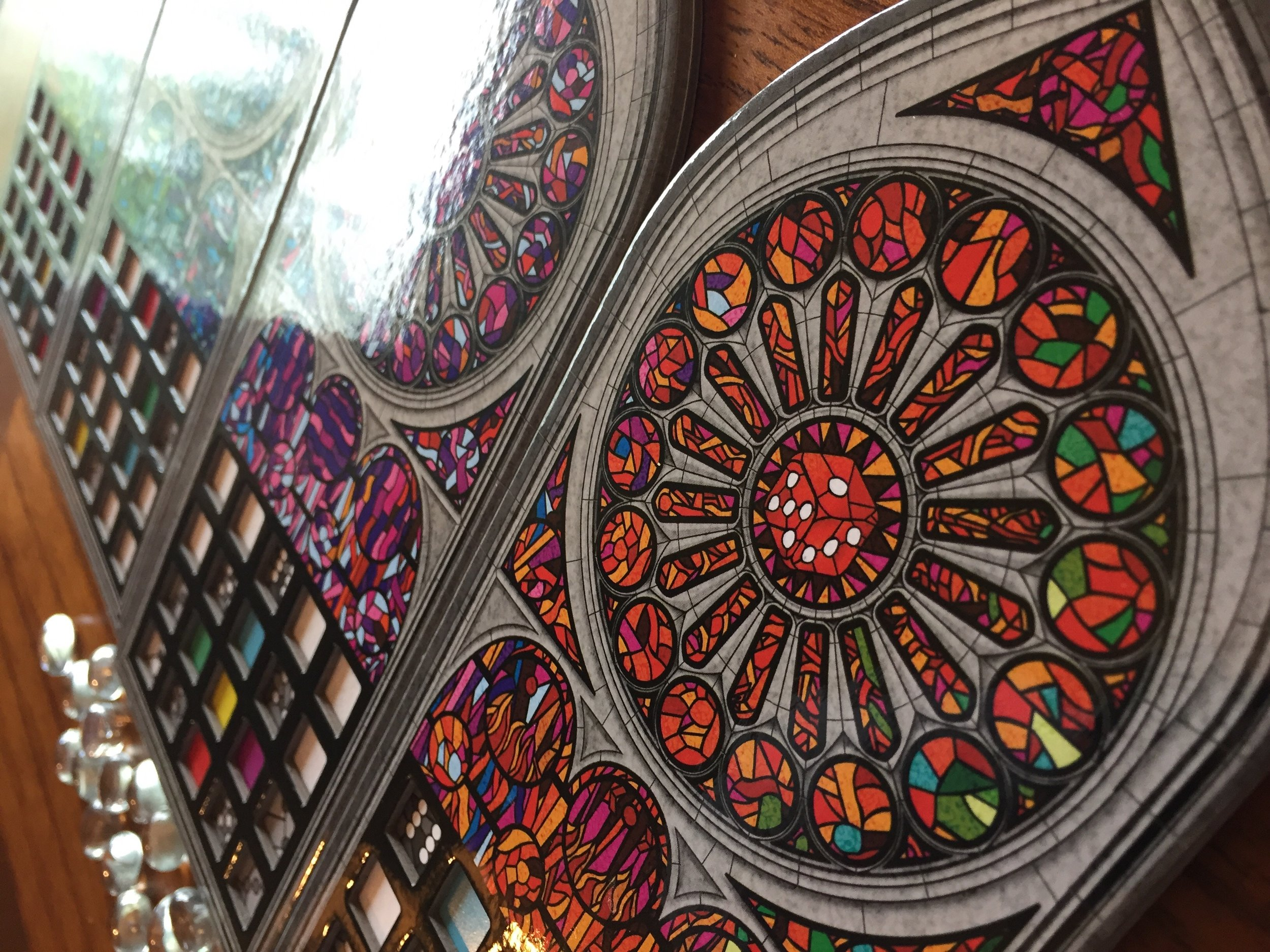 Sagrada's art design is stunning. It's almost as fun to look at as it is to play.