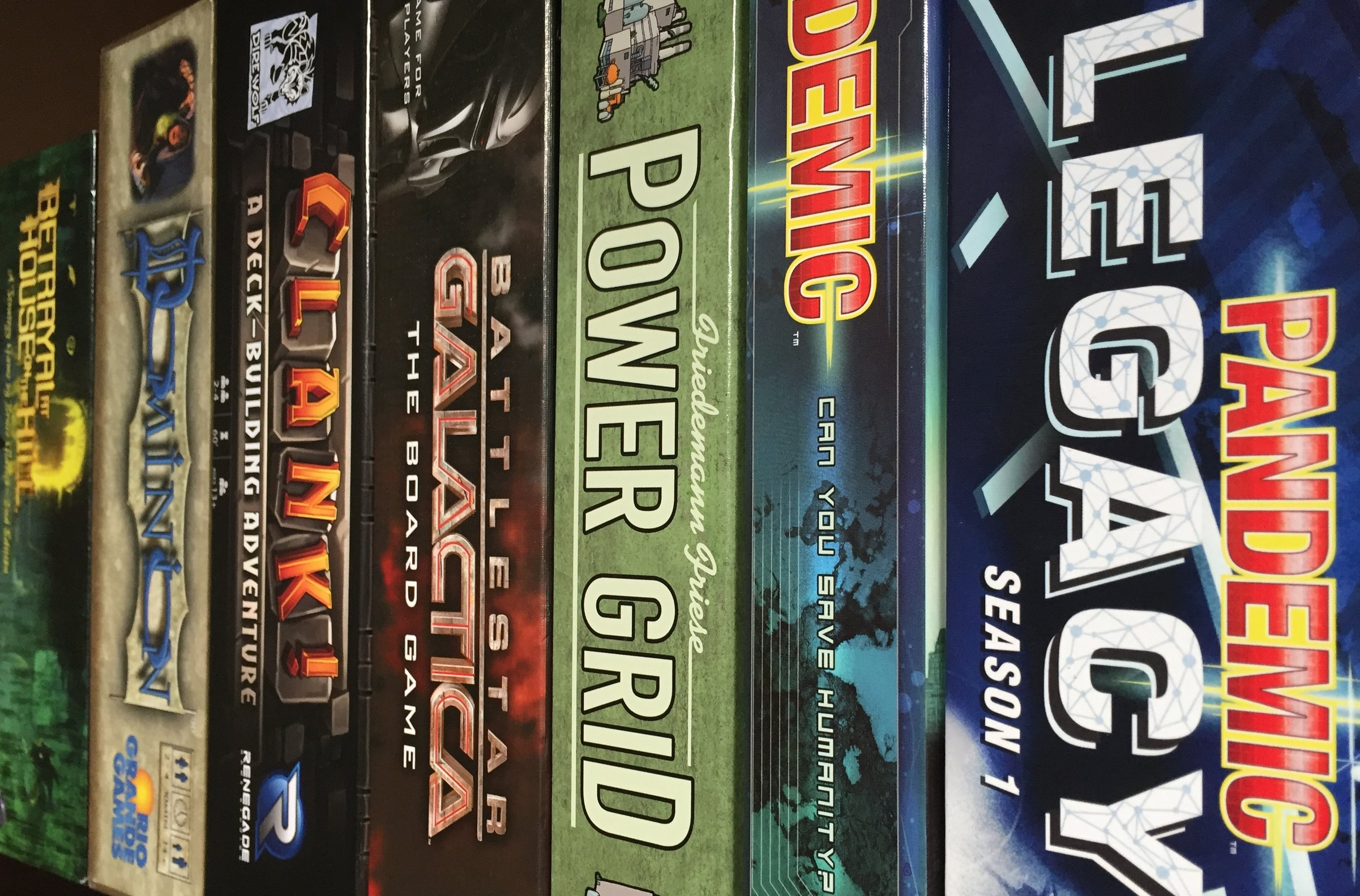 Board game collections: we're as proud of them as we are of our own kids.