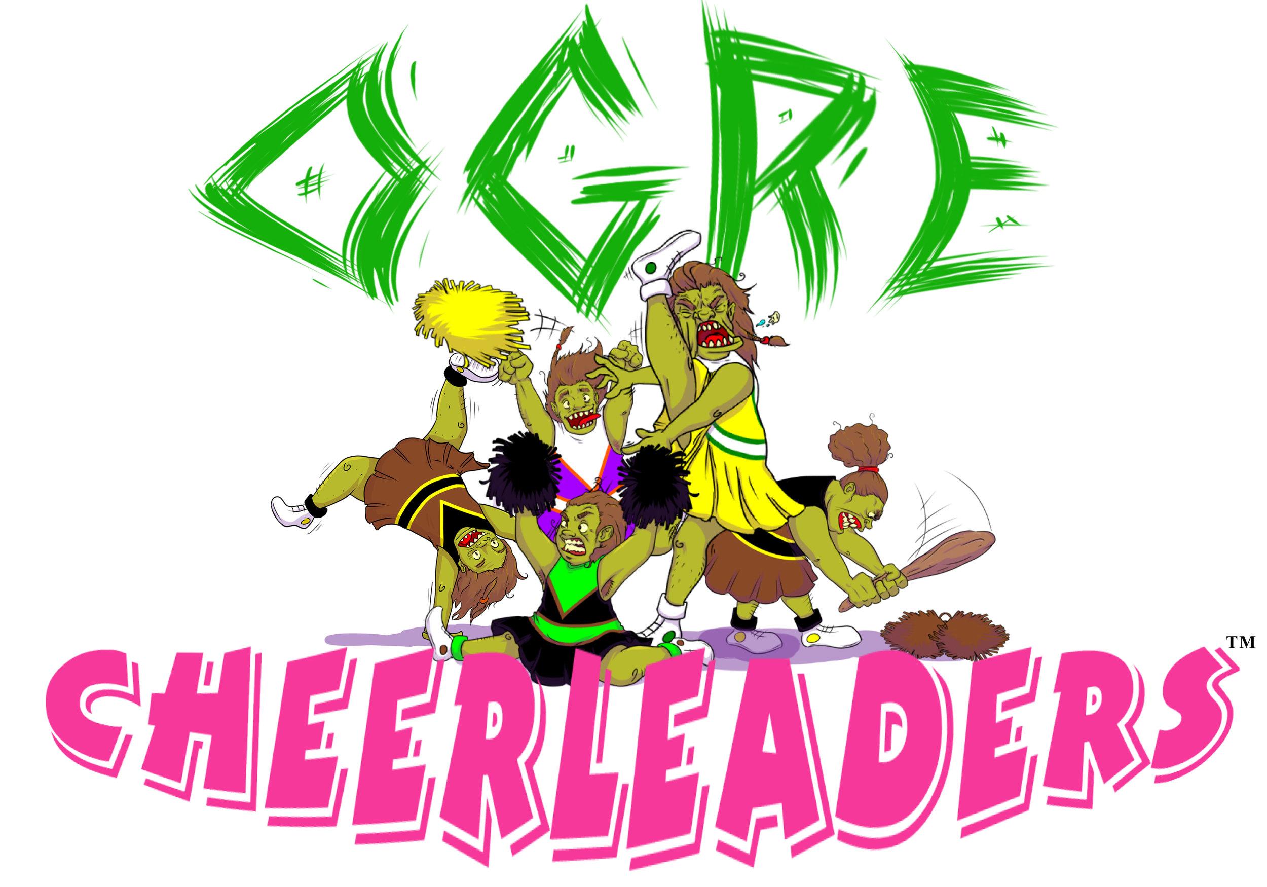 Ogre Cheerleaders Card Game