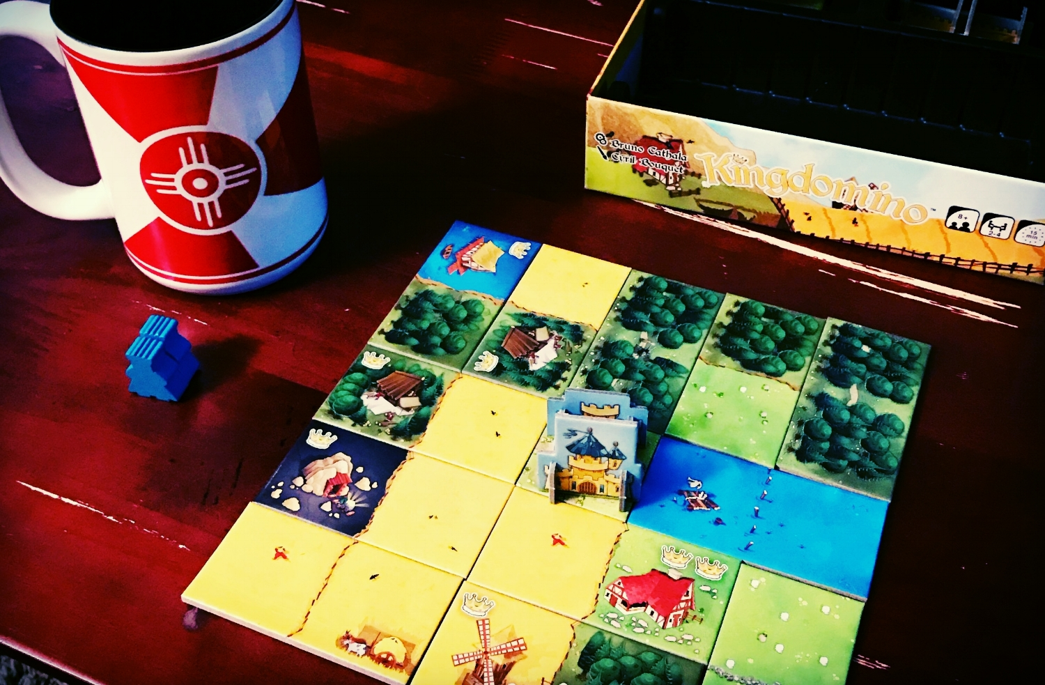 Have you friends over for beer and board games. If things go well, you'll soon be having coffee and board games.