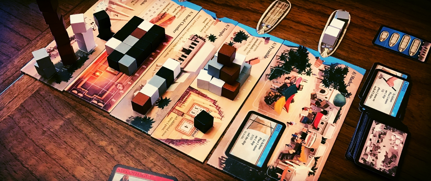 The mystery of the pyramids has been solved. It was just some pharaohs trying to win at board games.