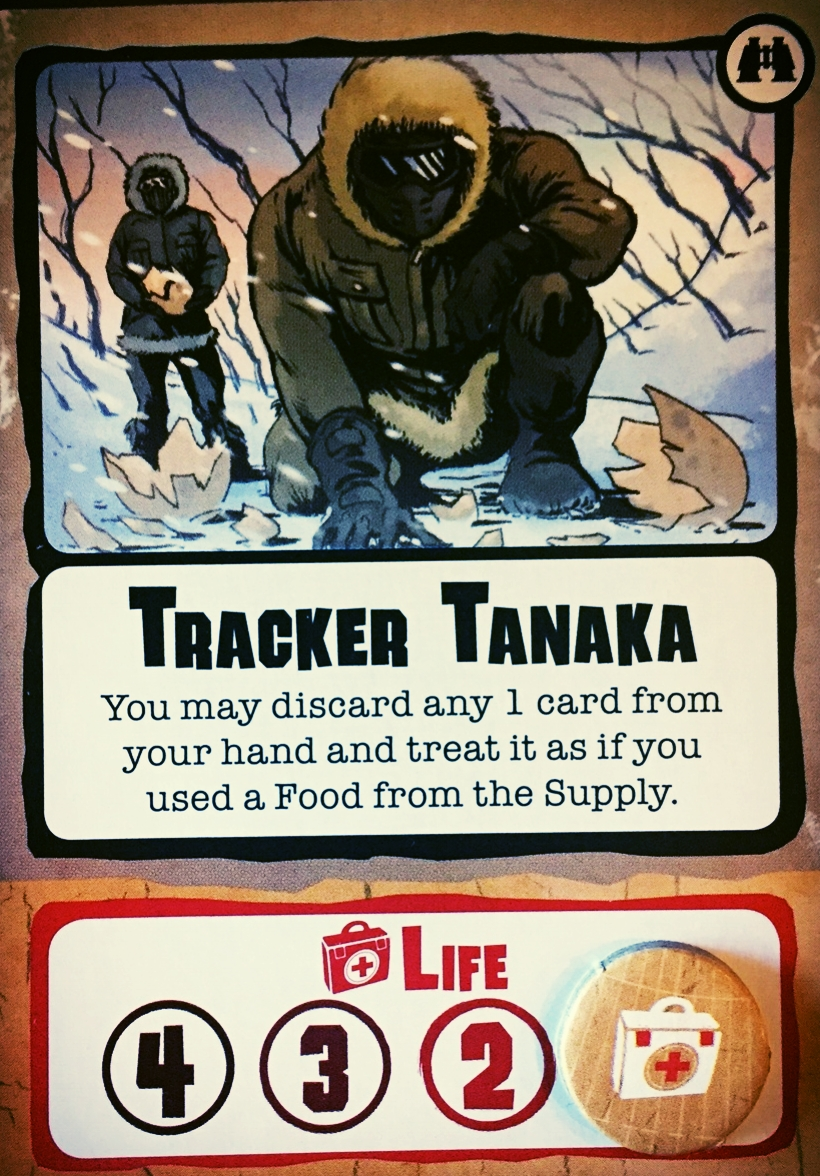 Tracker Tanaka is on the trail of something. We're guessing it's something deadly.