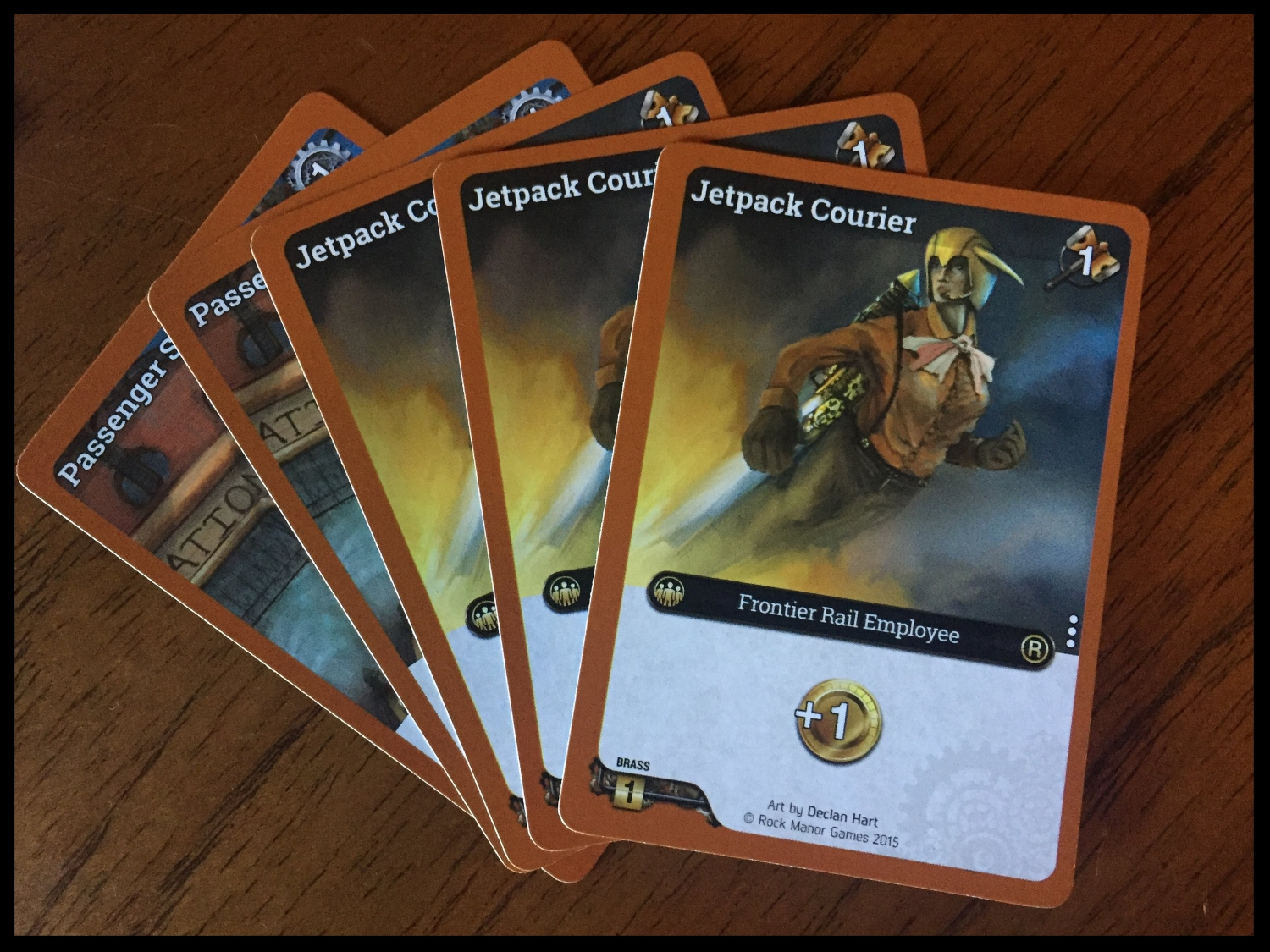 These cards are only available for purchase for the Frontier Rail faction.