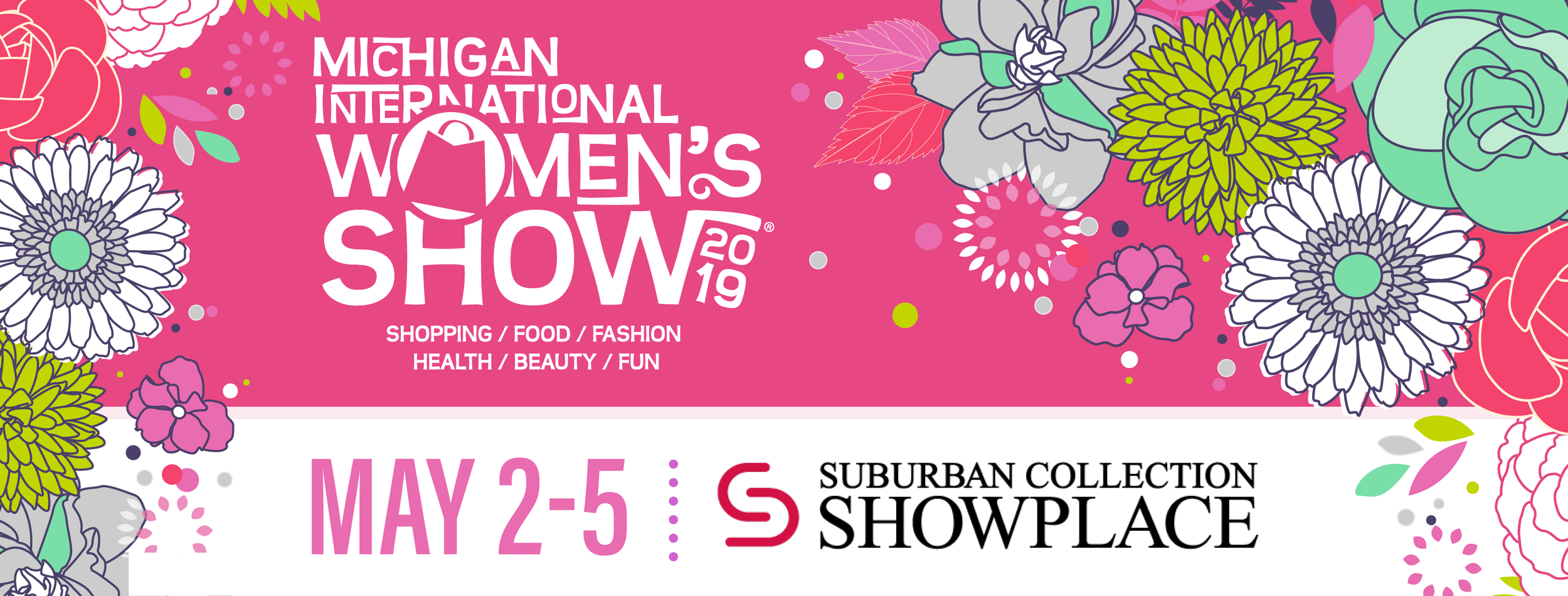 Visit my  PAGE  at the Michigan International Women's Show 2019!