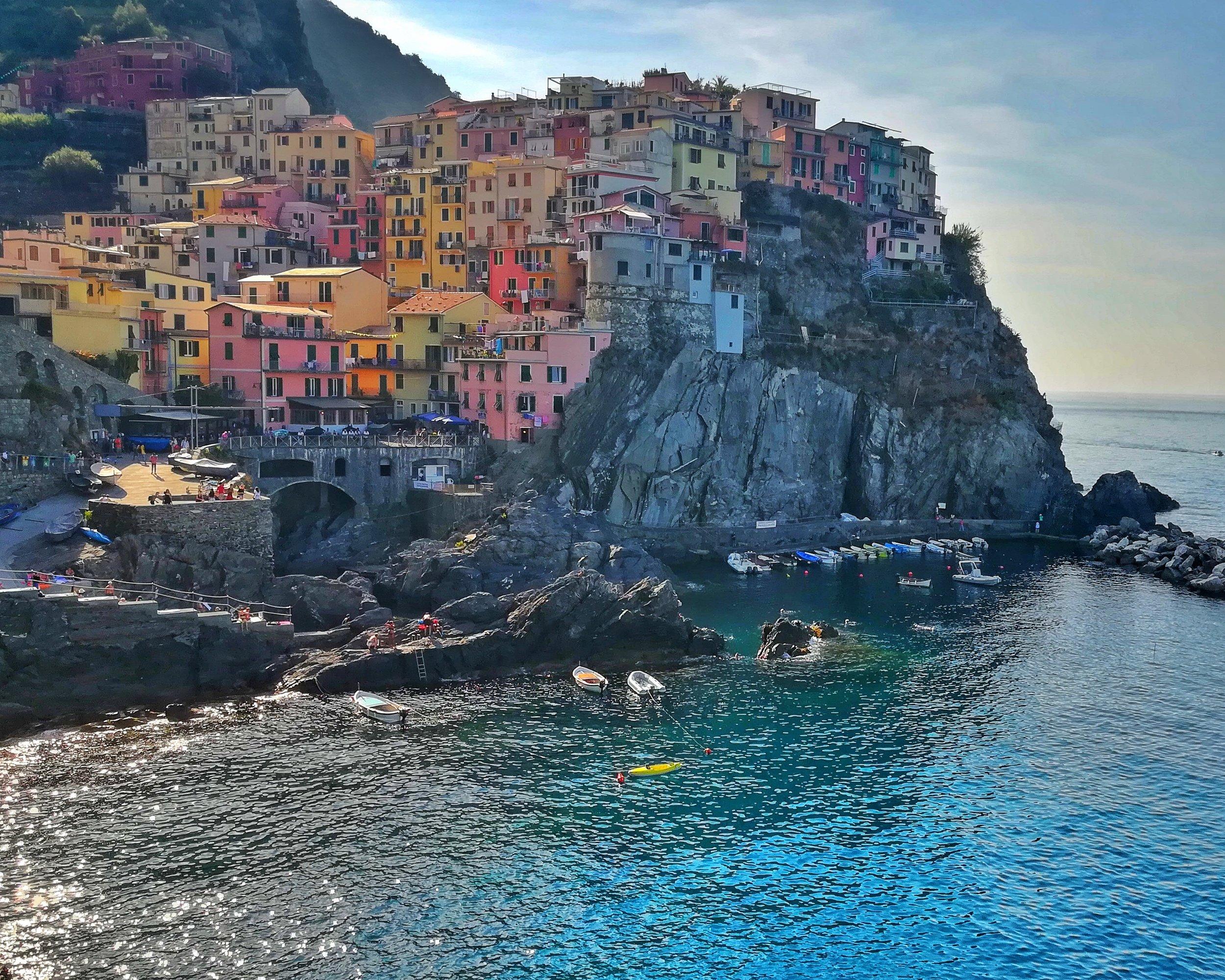 Cinque Terre (pronounced ching-ka-terra)