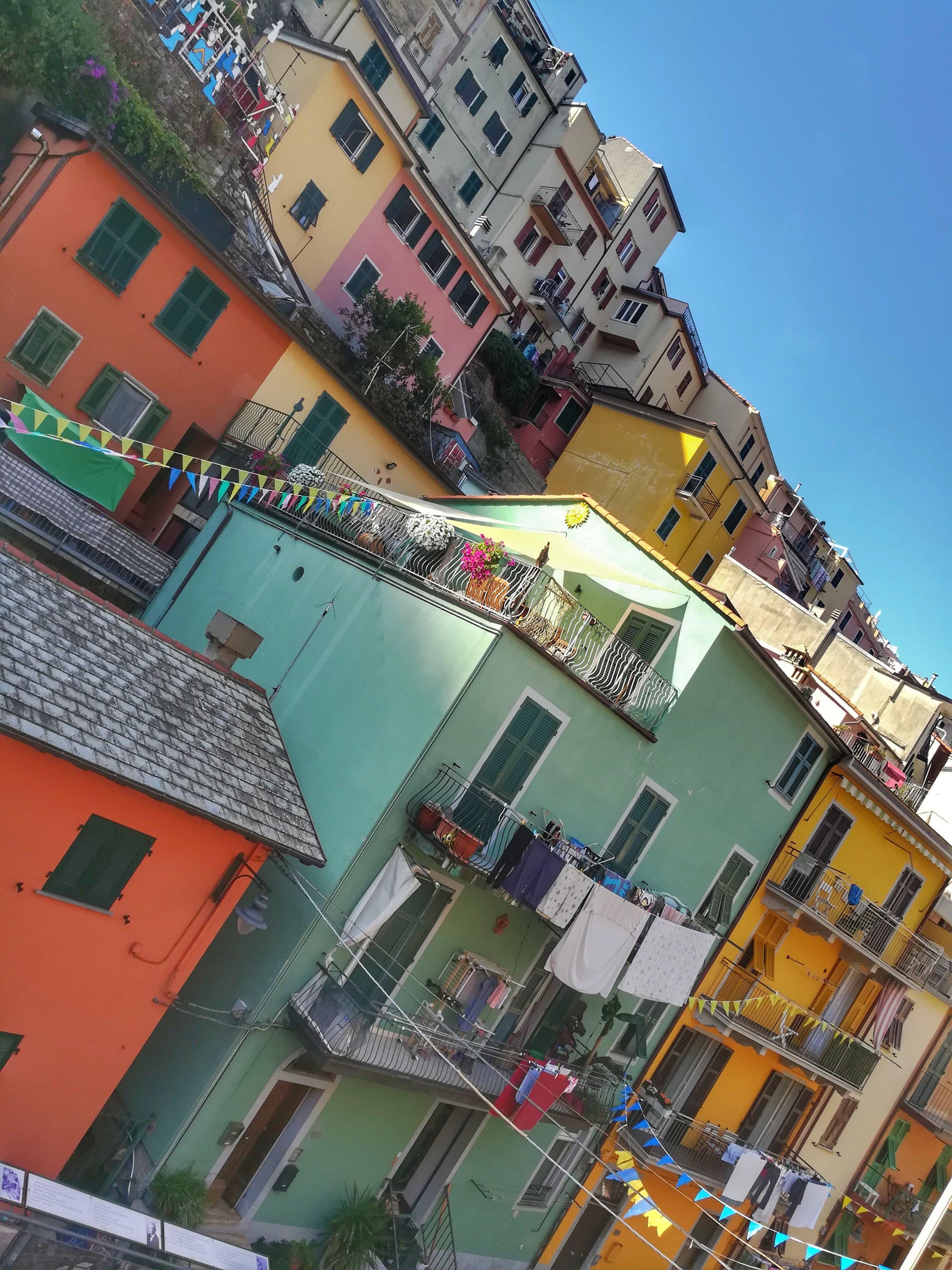 Fun colourful streets