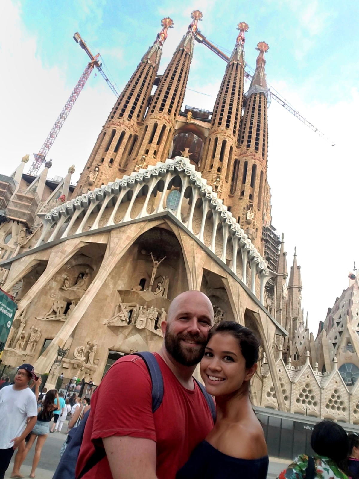La Sagrada Familia and its never ending construction