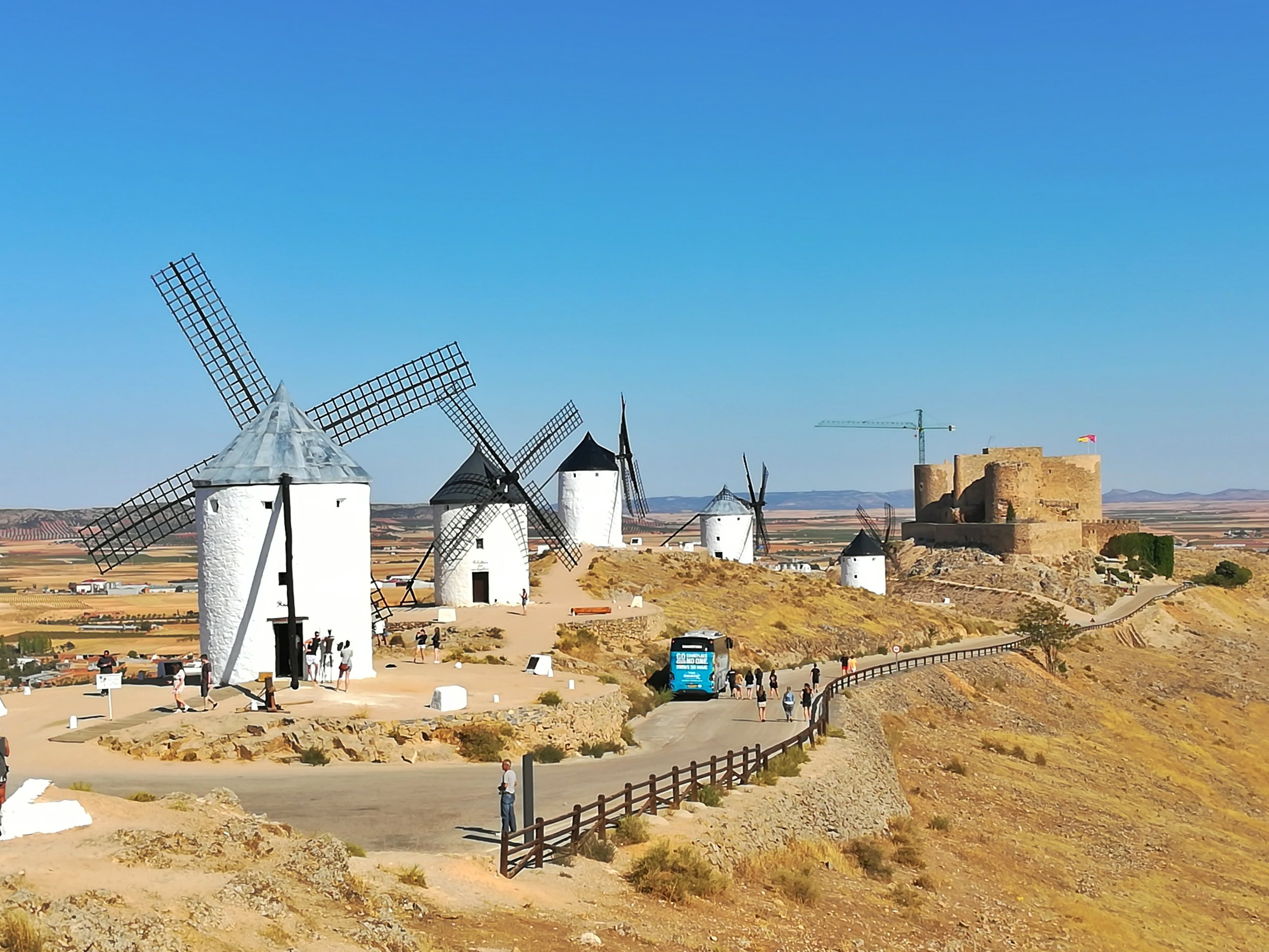 The windmills that looked like giants