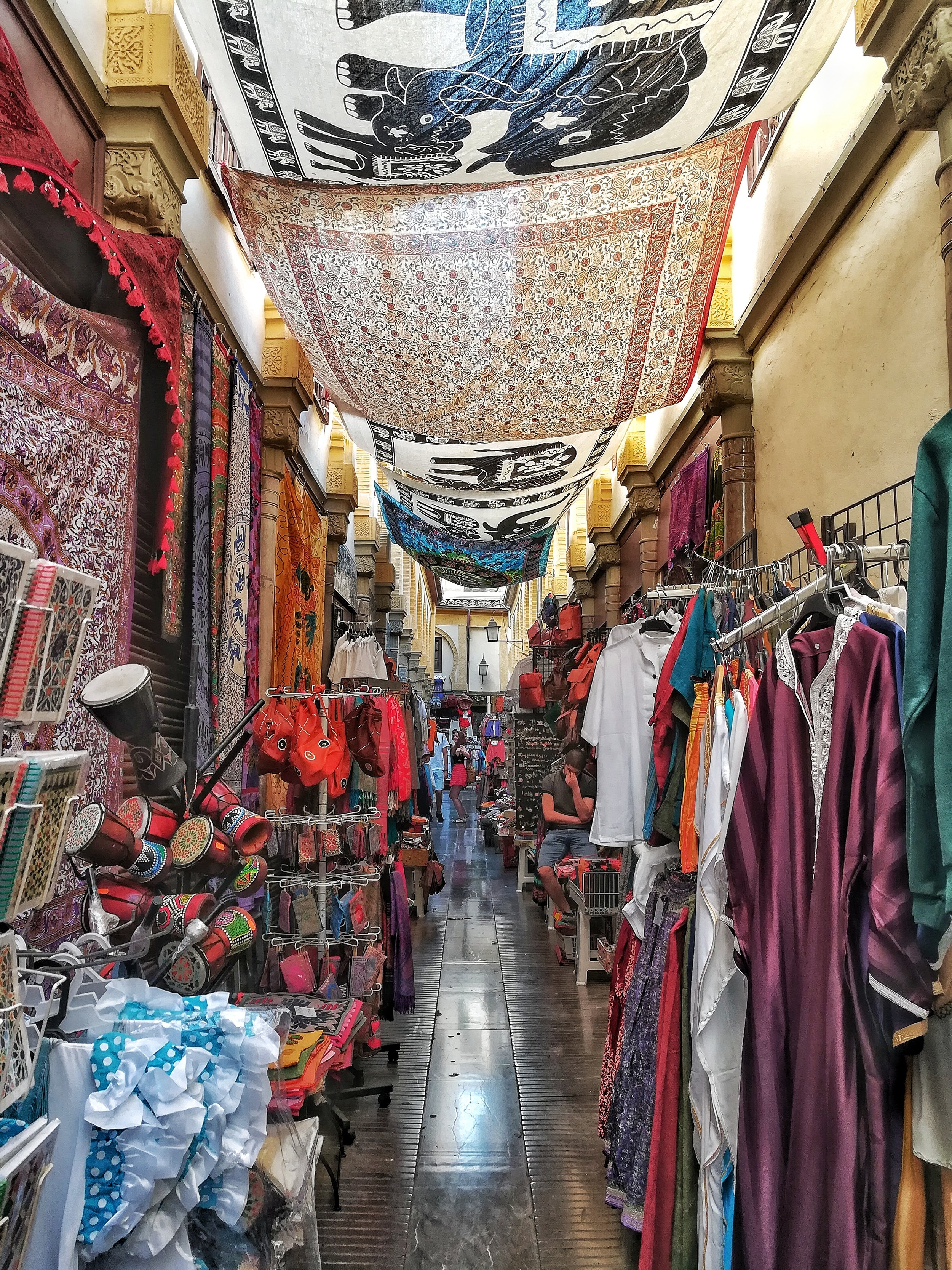The Morocco inspired street markets