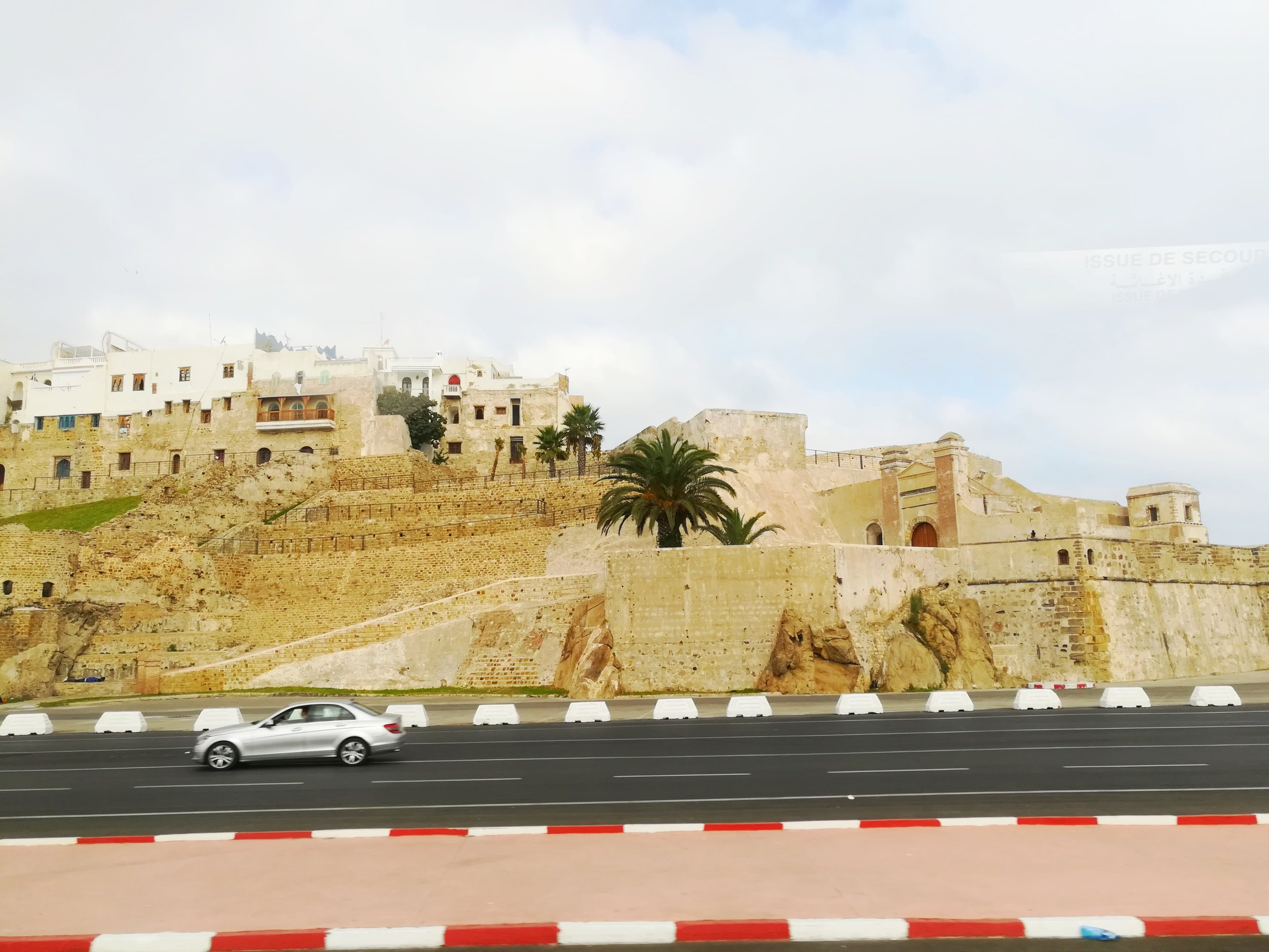 Fort on the entrance to morroco