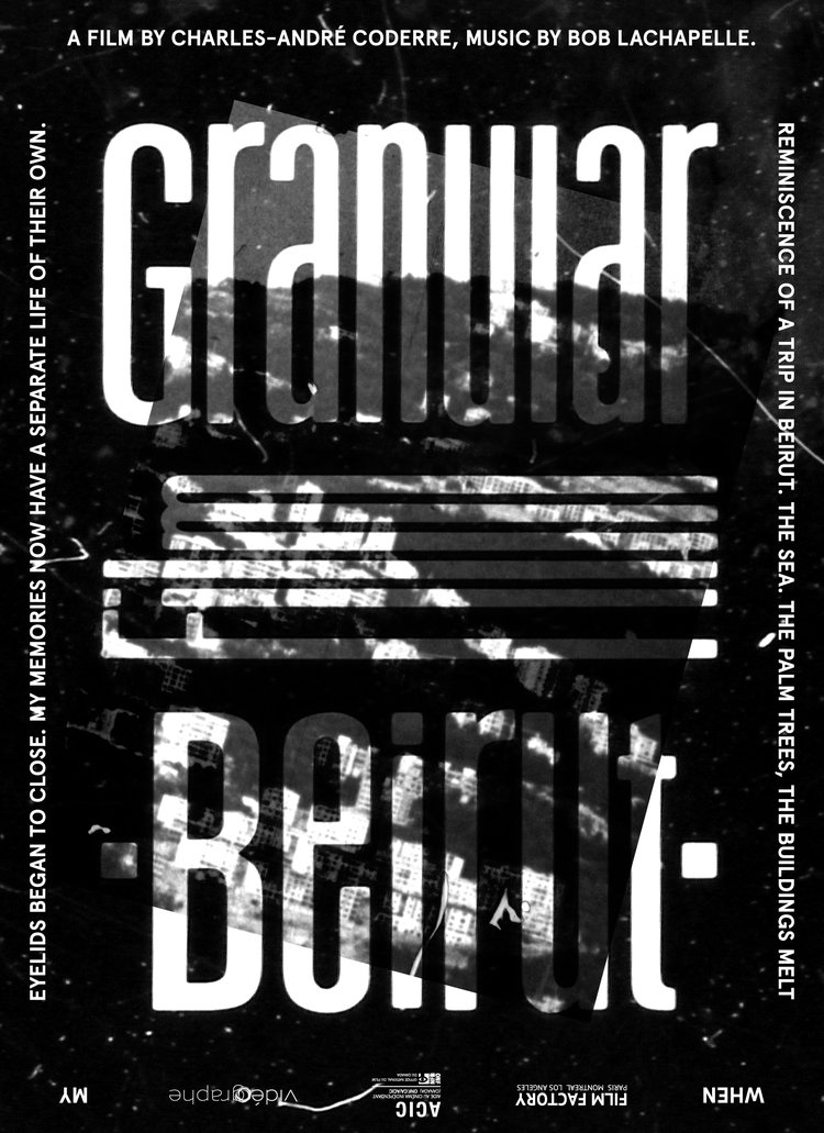 Film poster made by  Loïc Untereiner