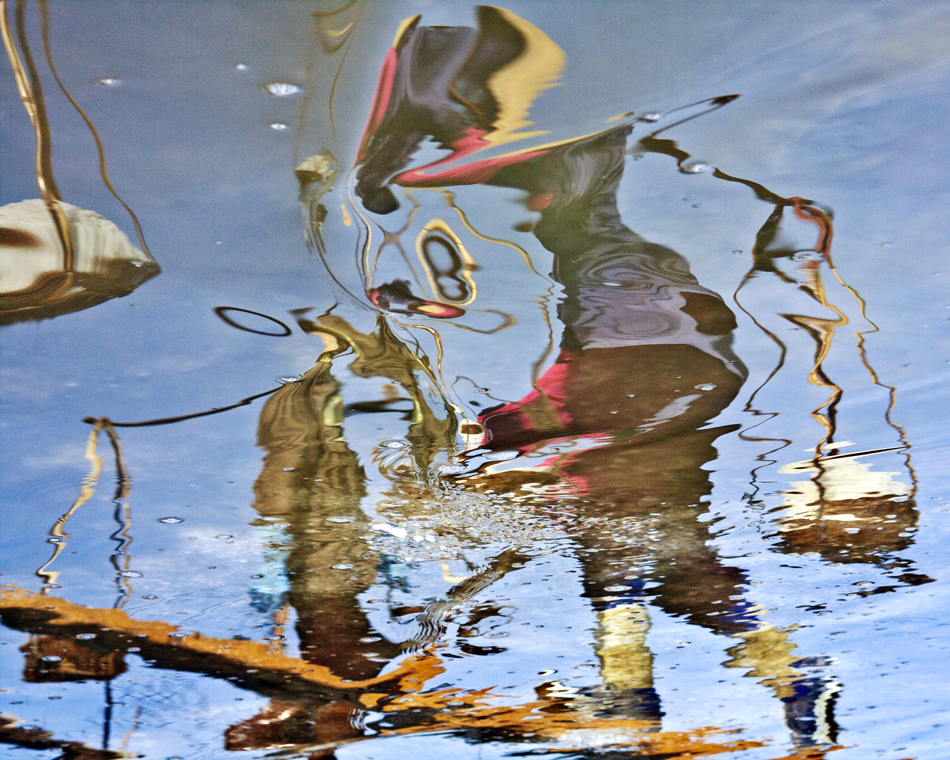 """Xtreme Distortion   Photograph on Paper on board  by  Lily Phan   Size: 20 x 16""""   $600.00"""