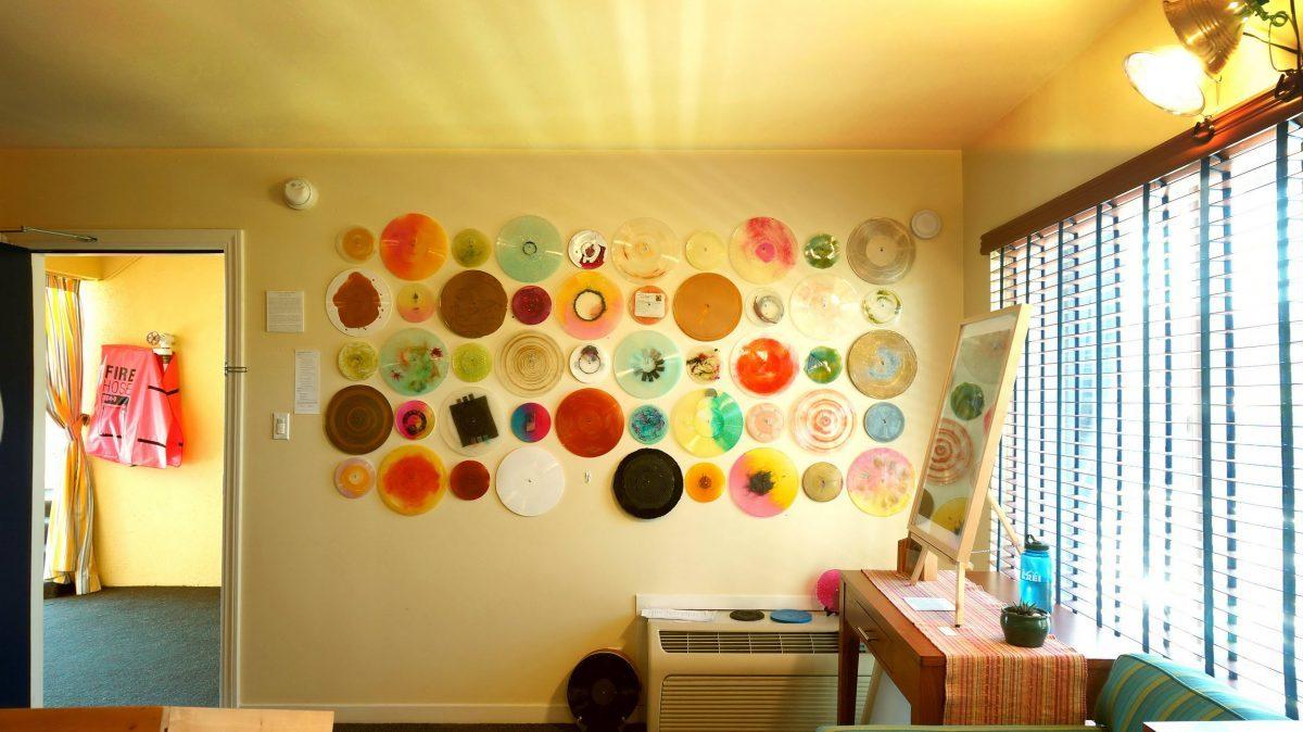 Installation view of Jon Fischer's room at stARTup SF 2017